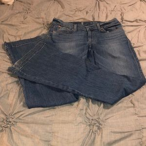 7 for all mankind trouser jeans